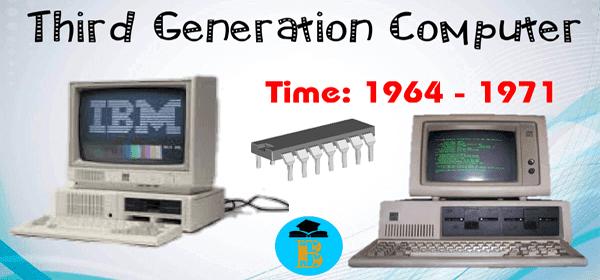 কম্পিউটারের তৃতীয় প্রজন্ম ১৯৬৪-১৯৭১ (Integrated Circuits)