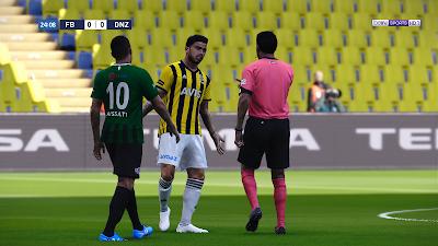 PES 2021 Scoreboard SporToto Süper Lig Turkish