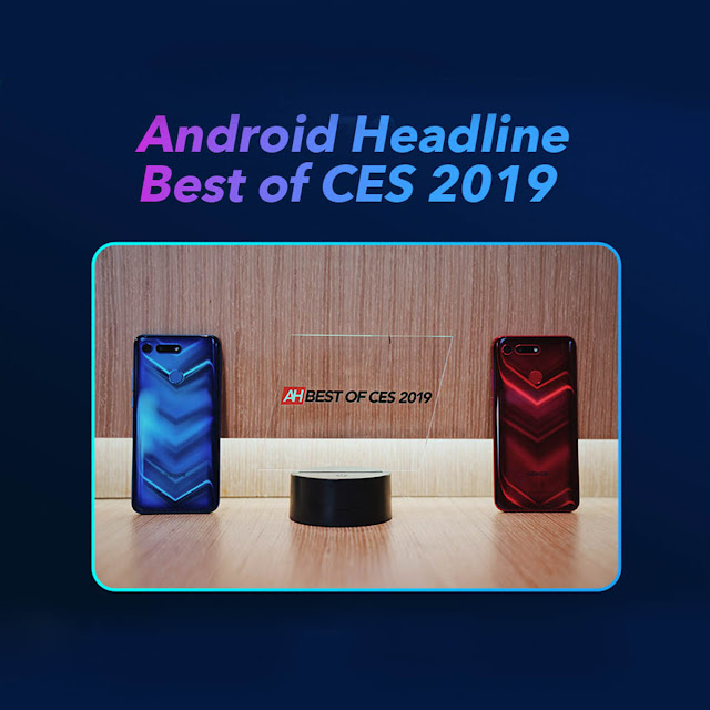 HONOR View20 Won Awards CES2019