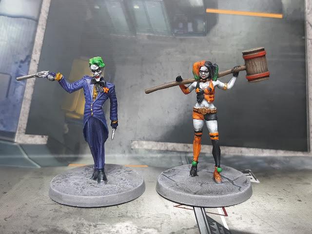 Batman painting progress so far…Core Boxes finished!!!