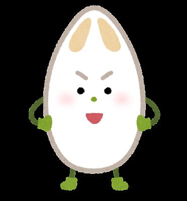 笹かまぼこのキャラクター(練り物)