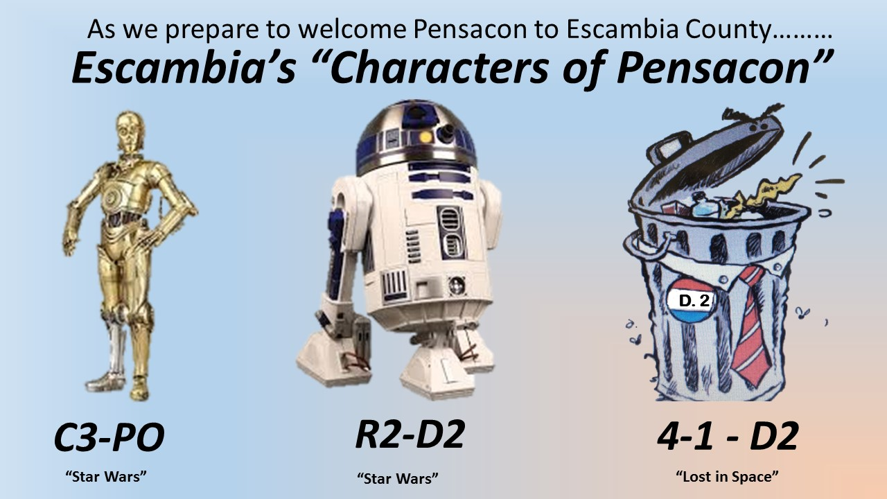 "Escambia's ""Characters of Pensacon"""