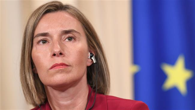 European Union foreign policy chief Federica Mogherini urges all JCPOA sides to keep commitments