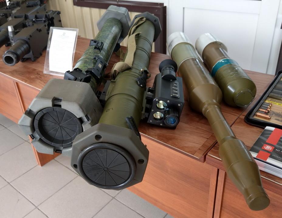 Демонстрація розробок російських перспективних гранатометів