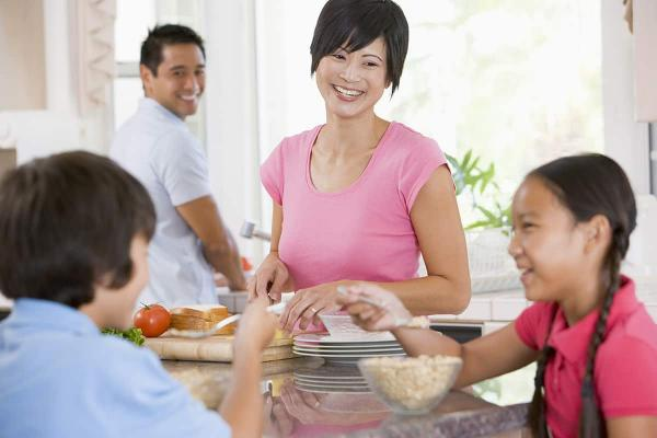 See How to Make Family Meal Time Count