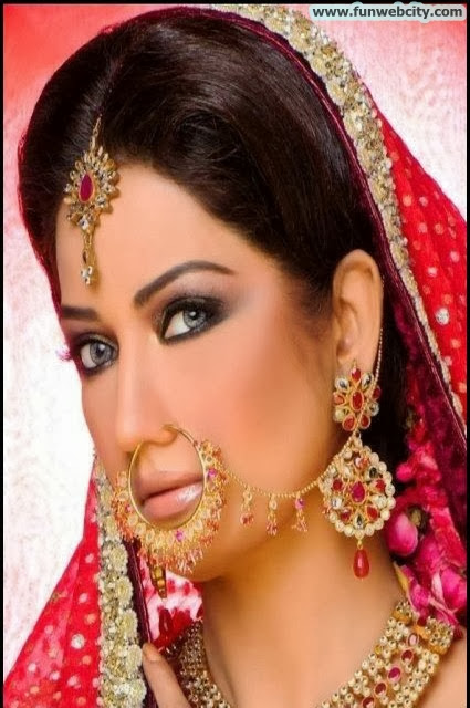 Latest Bridal Makeup & Photoshoot