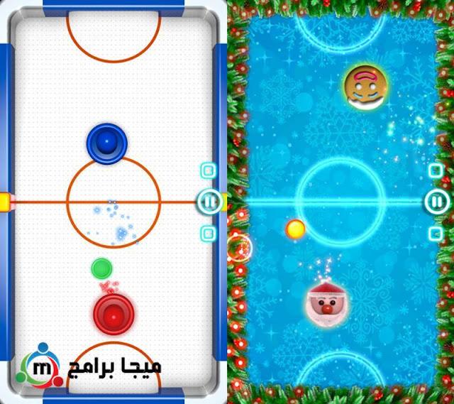لعبة هوكي الطاولة Glow Hockey