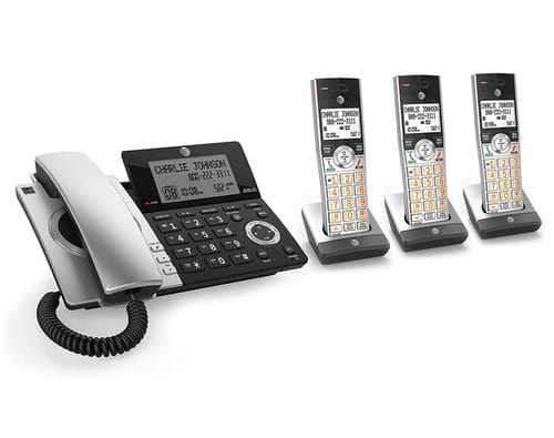 AT&T CL84307 Dect 6.0 Expandable Corded/Cordless Phone