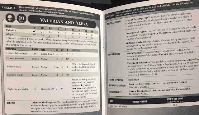 Valerian y Aleya hoja de datos