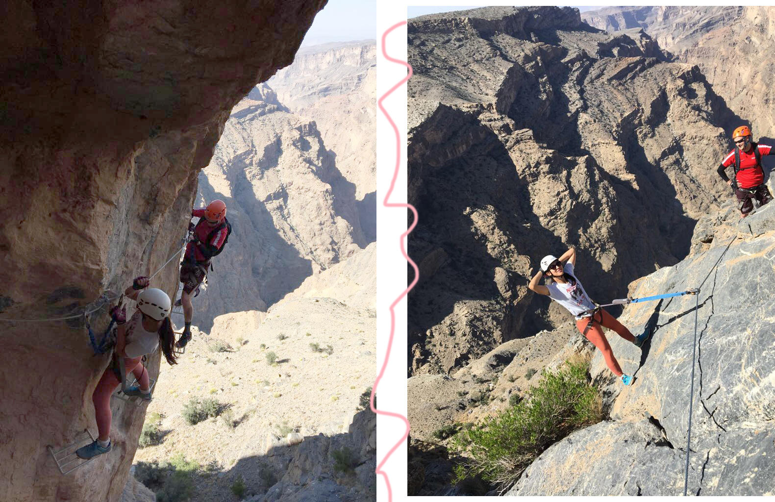 Euriental | luxury travel & style | Alila Jabal Akhdar via ferrata, Oman