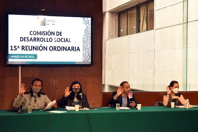 Pide la Comisión de Desarrollo Social que en el próximo proceso electoral no se utilicen recursos públicos