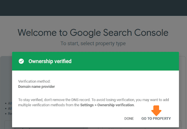 How To Connect Website To Google Search Console & Verify Domain Ownership Via DNS Record 12