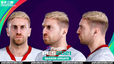 PES 2021 Faces Papu Gómez (Blonde) by Yeshua