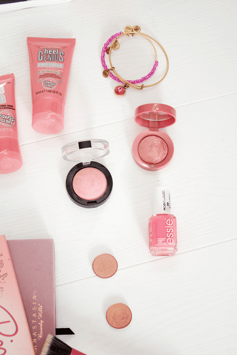 Pink beauty favourites