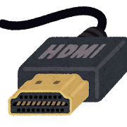 HDMI端子のイラスト