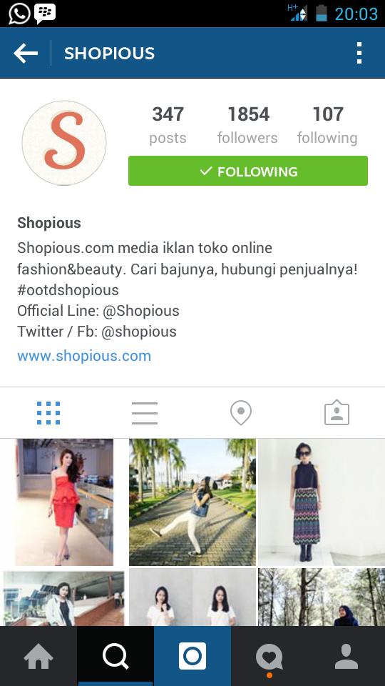 Belanja Online di instagram