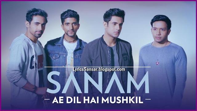 Ae Dil Hai Mushkil (covers song) SANAM