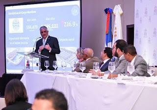 Canciller Miguel Vargas resalta rol naviero a favor dinamismo de la economía dominicana