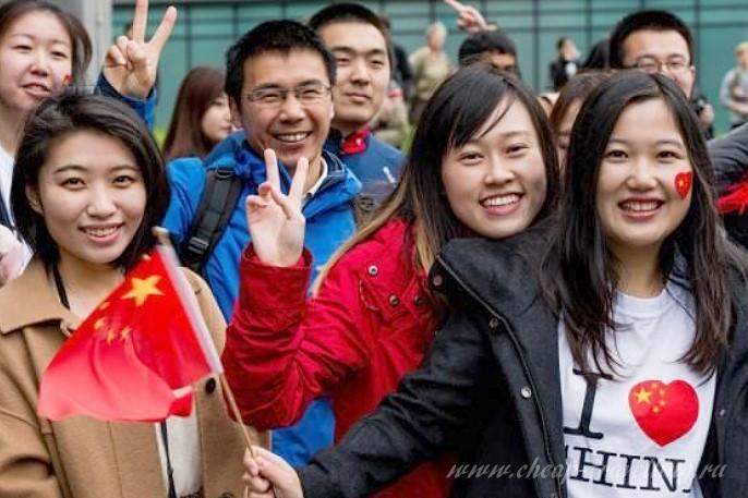 Весёлые китайцы