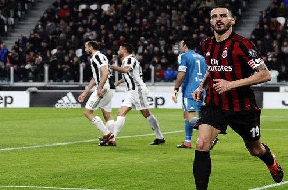 موعد مباراة يوفنتوس وميلان اليوم الاربعاء 9 مايو 2018 نهائى كأس إيطاليا بالأولمبيكو
