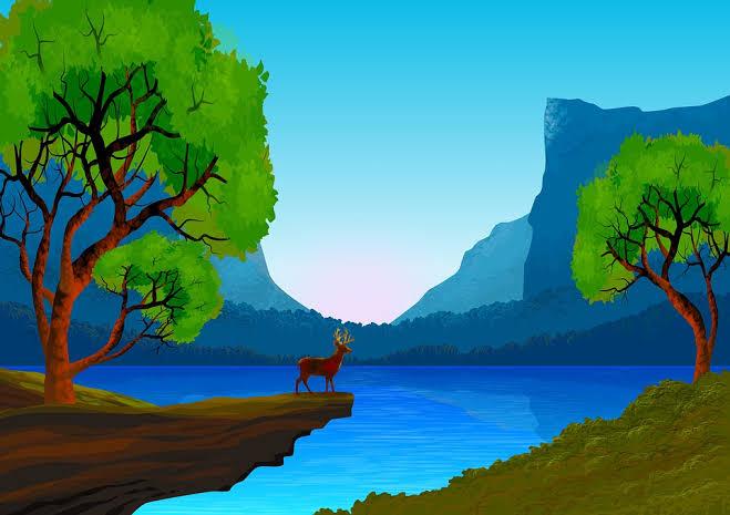 Contoh Gambar Flora Fauna Dan Alam Benda Menjadi Satu