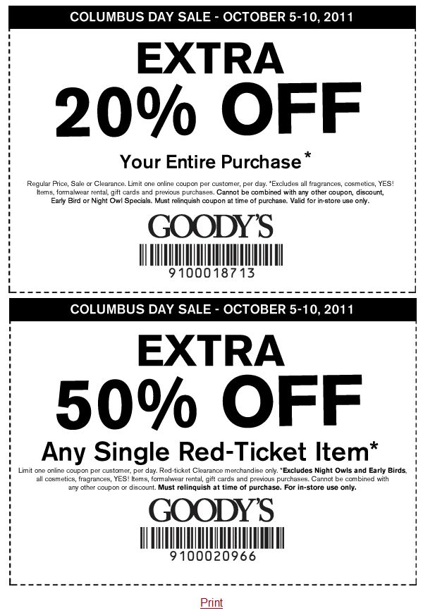 graphic relating to Goodys Printable Coupons called Inside of-Keep Printable Coupon codes, Personal savings and Specials! Printable