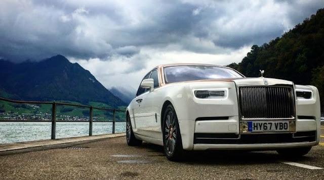 Cristiano Ronaldo New Car Price  Cristiano Ronaldo Rolls-Royce Phantom
