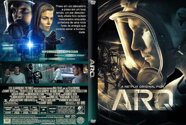 Capa DVD ARQ
