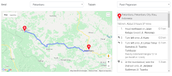 Cara Menampilkan Deskripsi Arah Pada Rute dengan Google Maps