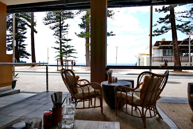 Manly, Steyne, Promenade, Sugar Lounge, Bar, Aussicht