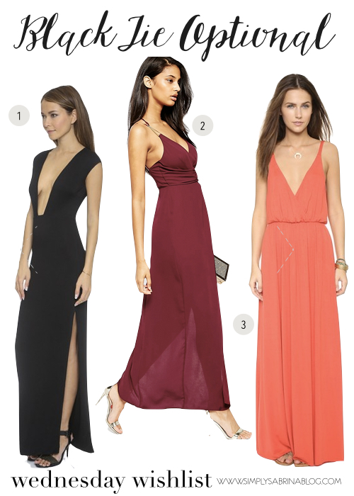 WEDDING STYLES: Black Tie