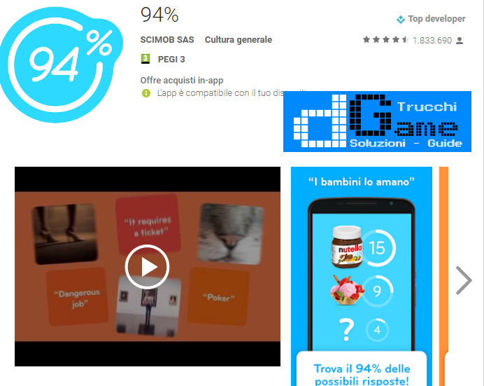 Soluzioni 94%  livello 66 | Trucchi e Walkthrough level