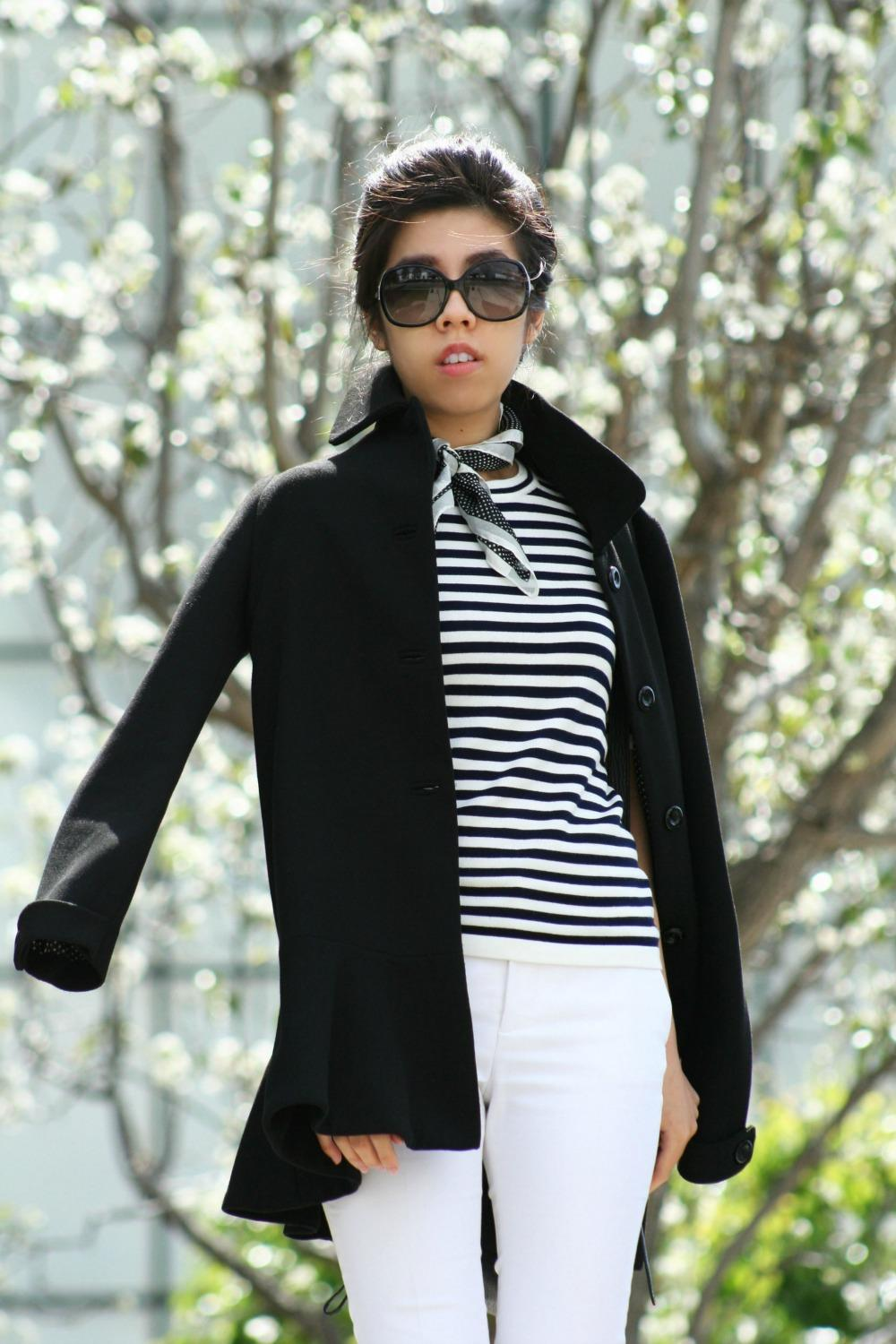 Classic Vintage Audrey Hepburn Style - French Girl - Adrienne Nguyen - Invictus