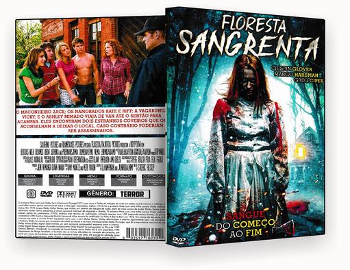 CAPA DVD – FLORESTA SANGRENTA (2018) DVD-R