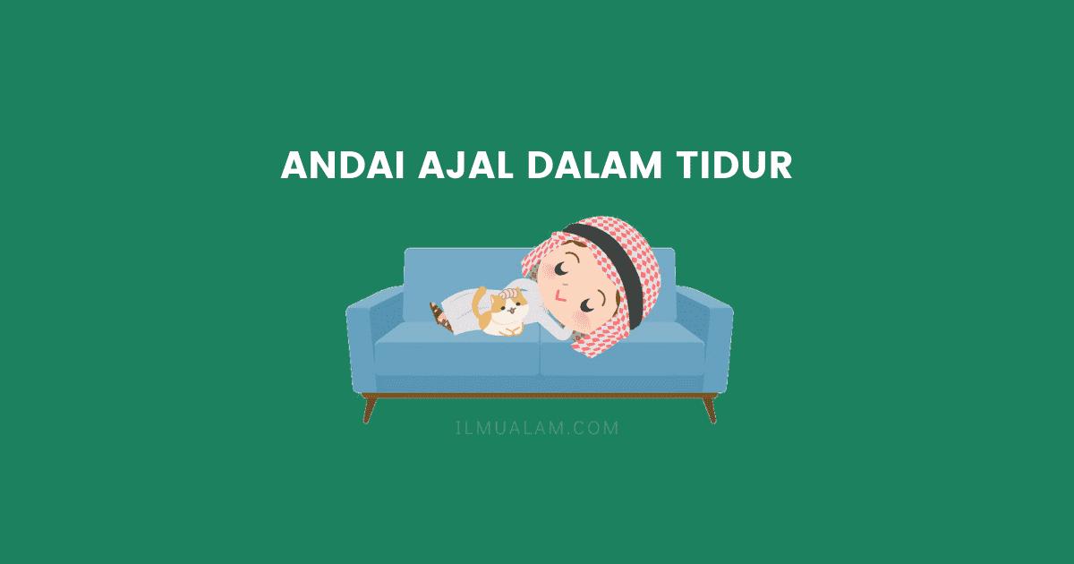 4 amalan sunnah sebelum tidur