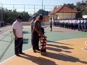 Buka Bright Character Building SMK N Bali Mandara, Dandim 1609/Buleleng Beri Motivasi