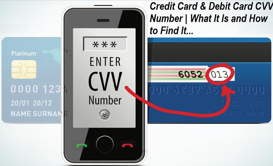 Debit Card CVV Number
