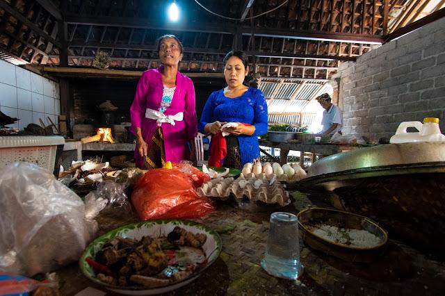Cucina Tempio Kehen-Bali