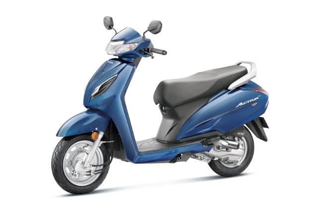 Honda new Activa 6G in india.