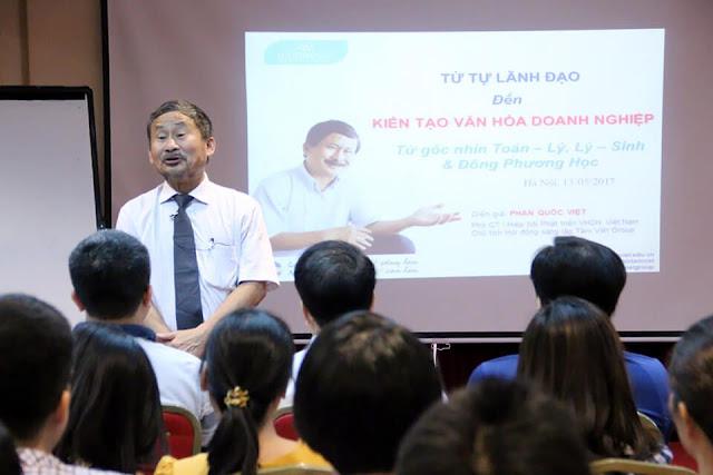 Ts. Phan Quốc Việt – Phó chủ tịch thứ nhất hội văn hóa doanh nghiệp Việt Nam