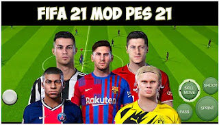 Download FIFA 21 MOD PES 2021 Android Best Graphics Manager Mode Working & Update Transfer