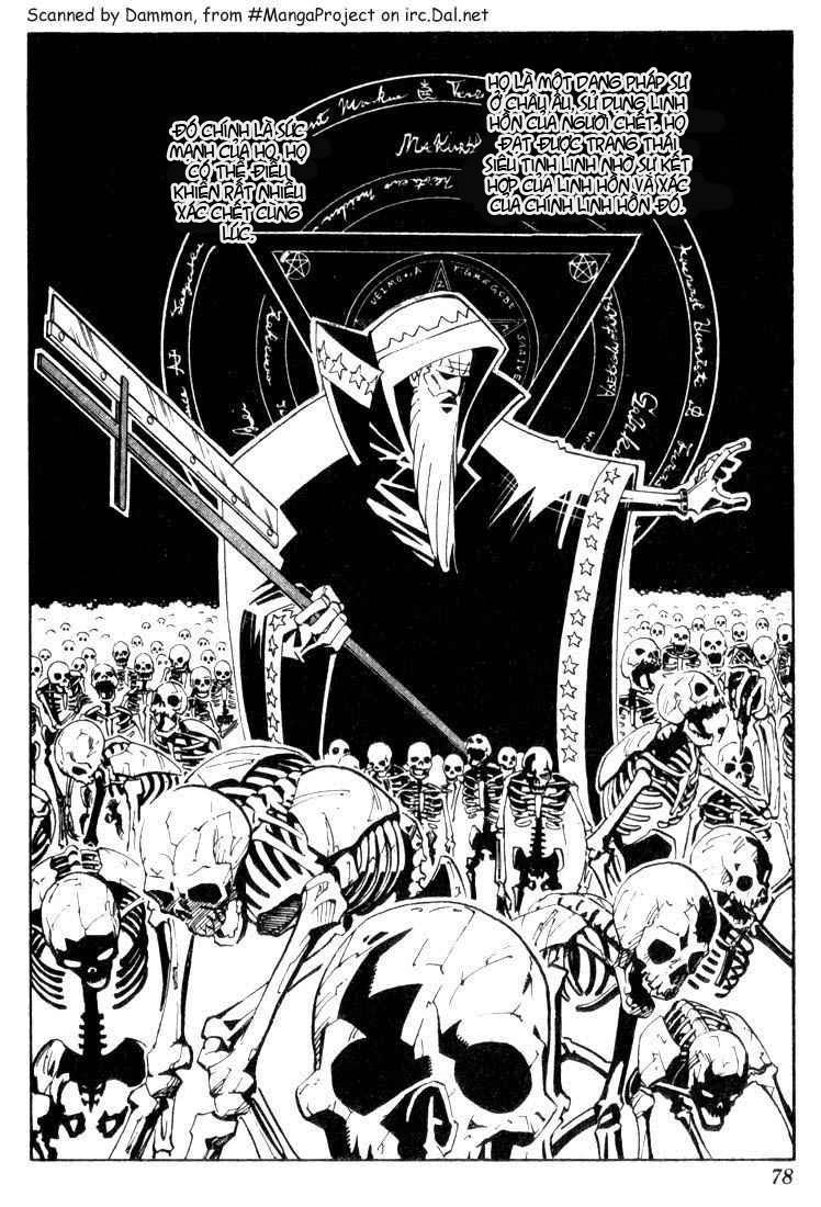 Shaman King [Vua pháp thuật] chap 39 trang 13