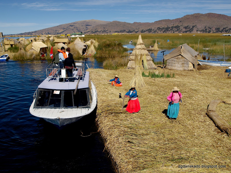 Peru transport, Titicaca