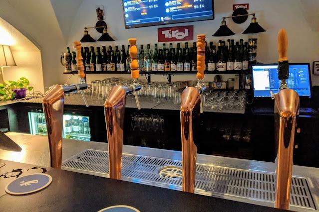 What to do in Innsbruck Austria: taps at Tribraun