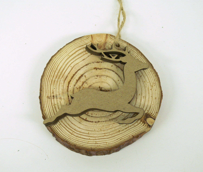 Ben franklin crafts and frame shop diy wood slice ornaments for How to cut wood slices