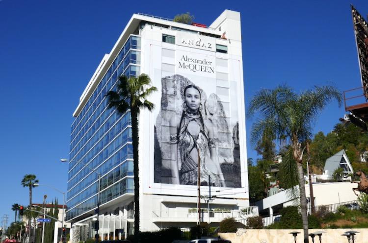 Alexander McQueen S19 billboard