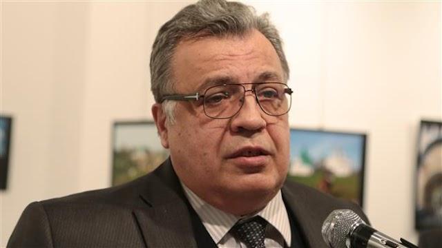 Russian ambassador to Turkey Andrey Karlov killed after gun attack