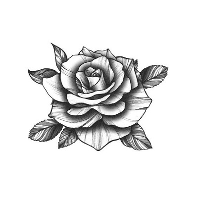 gambar sketsa bunga mudah
