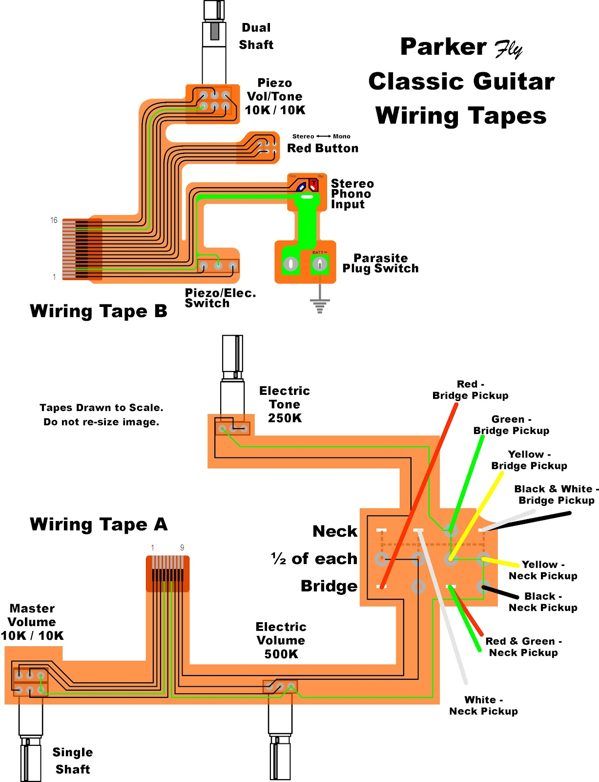 parker guitars wiring diagrams kingston teisco guitars wiring diagrams