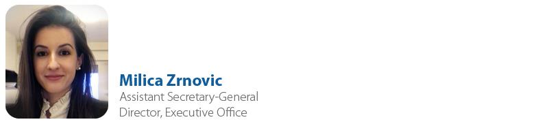 Milica Zrnovic, IYF Assistant Secretary-General